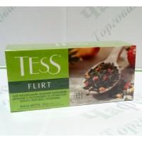 Чай TESS Flirt Флірт зел. 25*1,5г (24)
