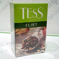 Чай TESS Flirt Флірт зел. 90г (15)
