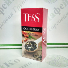 Чай TESS Goldberry Голдберрі чорн. 25*1,5г (24)