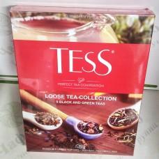 """Чай TESS Набор """"Ассорти"""" листовой 355г (6)"""