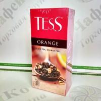 Чай TESS Orange Оранж черн. 25*1,8г (24)