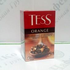 Чай TESS Orange Оранж черн. 90г (15)
