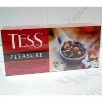 Чай TESS Pleasure Плеже чорн. 25*1,5г (24)
