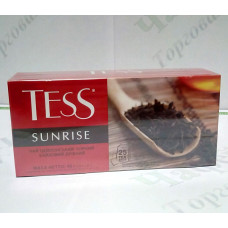 Чай TESS Sunrise Санрайз черн. 25*1,8г (24)