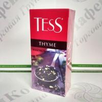 Чай TESS Thyme Чебрець чорн. 25*1,5г (24)