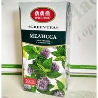 Чай Три слона Меліса зел. 1,3г*20 б/н (20)