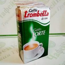 Кофе Trombetta Gusto Forte 250г 30% араб./70% роб. (20)
