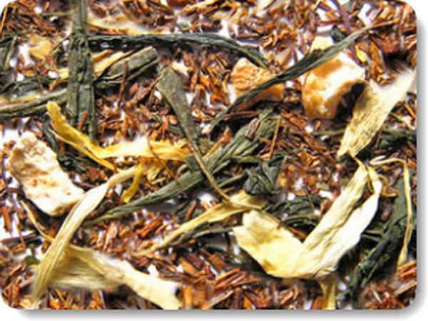 Смесь черного и зеленого чая
