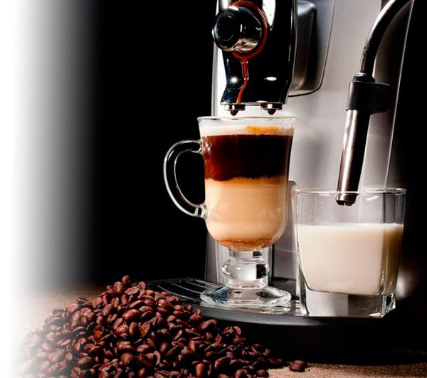 All assortment of coffee machines