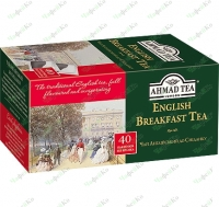 Ahmad English Breakfast Tea English Breakfast black 40pcs * 2g b / I (10)