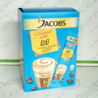 "Coffee JACOBS 3in1 ""Caramel Latte"" 24*12,5g"