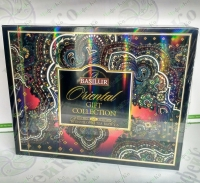 "Basilur Tea Gift Box ""Oriental Collection"" black+green 60*2g"