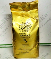 "Coffee ""100% Coffee"" Premium 1kg grain + 50 glasses in a GIFT (6)"